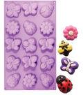NY Cake Novelty Baking Mold-Mini Bee, Butterfly & Daisy