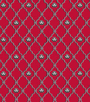 "Ohio State University Buckeyes Cotton Fabric 44""-Trellis Logo, , hi-res"