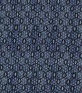 Vintage Cotton Fabric 43\u0022-Interlocking Ovals