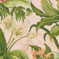 Waverly Upholstery Décor Fabric 9\u0022x9\u0022 Swatch-Wailea Coast Hibiscus