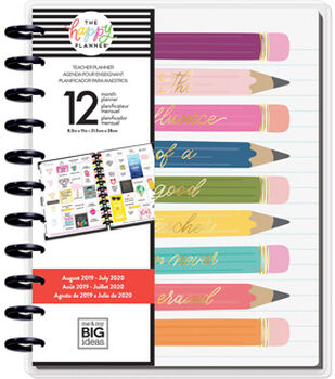 The Happy Planner 12-Month Dated Big Planner-Influence of a Teacher