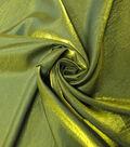 Yaya Han Cosplay Dual Fantasy Dupione Fabric 57\u0027\u0027-Black & Gold