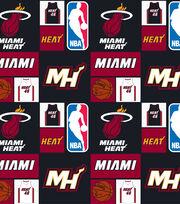 Miami Heat Cotton Fabric -Patch, , hi-res