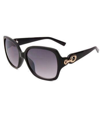 Smoke Black Opaque Sunglasses