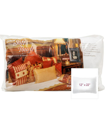"Soft Touch Pillow 12"" x 22"""