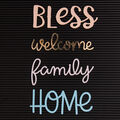 DCWV Home 4 Pack Letter Board Words-Home