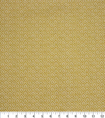 "Home Essentials Lightweight Decor Fabric 45""-Rythym Canary"