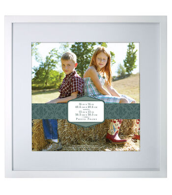 Gallery Wall Photo Frame-White