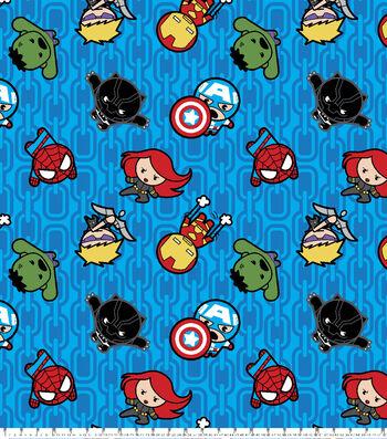 """Marvel Fleece Fabric 59""""-Kawaii Action"""