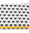 Doodles Juvenile Apparel Fabric 57\u0022-Boston Terrier Interlock