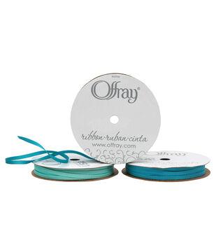 "Offray Grosgrain Ribbon 1/8"" x 12 Feet"