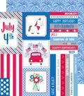 Yankee Doodle Double-Sided Cardstock 12\u0022X12\u0022-Summer Celebration
