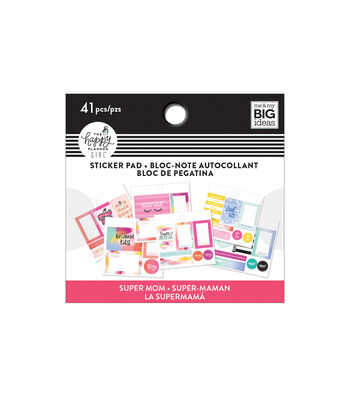 The Happy Planner Girl Tiny Sticker Pad-Super Mom