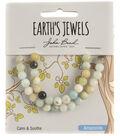 Earth\u0027s Jewels Semi-Precious Round 6mm Beads-Amazonite