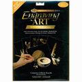 Foil Engraving Art Blank Boards 8\u0022X10\u0022-Gold