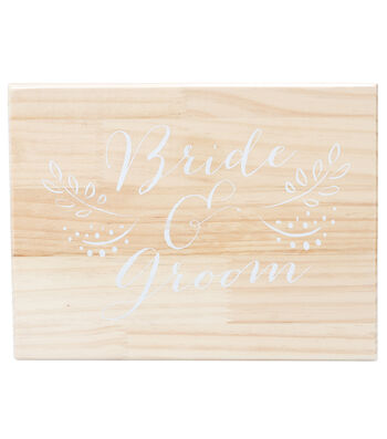 Save The Date Wooden Box
