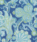 Waverly Upholstery Fabric 54\u0022-Grand Gesture/Porcelain