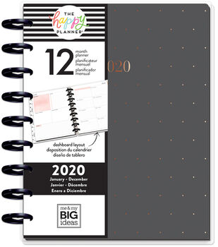 The Happy Planner Classic 2020 Dated Planner-Biz Babe