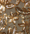 Casa Collection Mesh Sequin Embellished Fabric 59\u0027\u0027-Floral