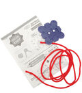 Clover Asian Knot Templates-Button Knot