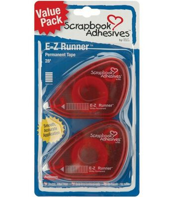 E-Z Runner Value Pack Permanent Tape