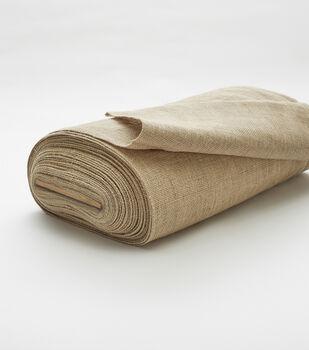 The Bolt Burlap Fabric 43 X30 Yds Natural