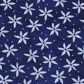 Keepsake Calico Cotton Fabric-Daisy Dot on Blue