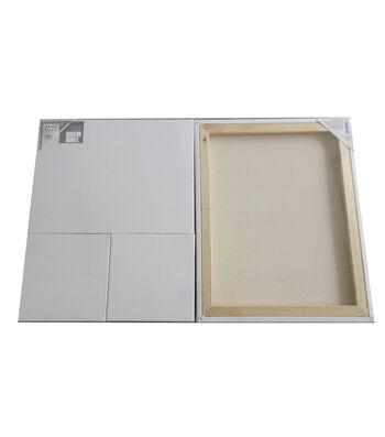 Artist Value 5 pk 16''x20'', 12''x16'' & 8''x8'' Canvases