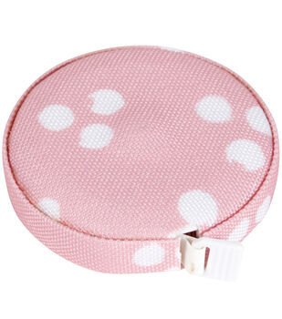 Everything Mary Covered Tape Measure-Light Pink