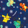 Pokemon Flannel Fabric -Snowball