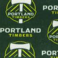 Portland Timbers Fleece Fabric -Logo