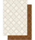 Kanban Patchwork Pals Hvywt Bknd-Patch PearlSepia/Cream2
