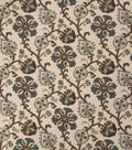 Home Decor 8\u0022x8\u0022 Fabric Swatch-Print Fabric Eaton Square Oprah Teal