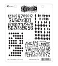 Dyan Reaveley\u0027s Dylusions Cling Stamp Collection-Basic Backgrounds