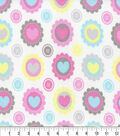 Snuggle Flannel Fabric -Candy Limelight