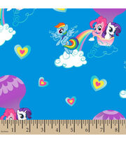Hasbro My Little Pony Hot Air Balloon Ride Cotton Fabric, , hi-res