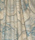 Waverly Upholstery Fabric 13x13\u0022 Swatch-Non-Stop Bluebell