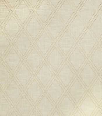"Jaclyn Smith Lightweight Decor Fabric 54""-Alvin/Cashew"