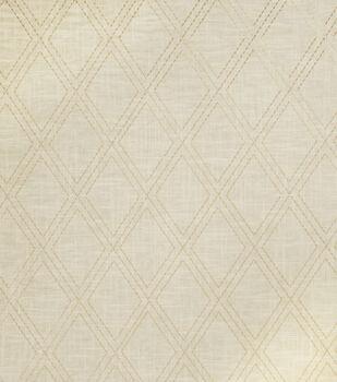 "Jaclyn Smith Lightweight Decor Fabric 54""-Alvin/Cashew"
