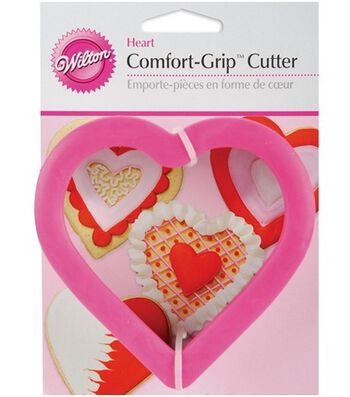 Wilton Comfort-Grip Cookie Cutter-Heart