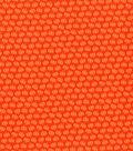 Harvest Cotton Fabric 44\u0022-Orange Mini Tossed Pumpkins