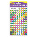 Trend Enterprises Inc. Spring Flowers superSpots Stickers, 800 Per Pack