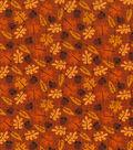 Autumn Inspirations Cotton Fabric 43\u0022-Harvest Leaf