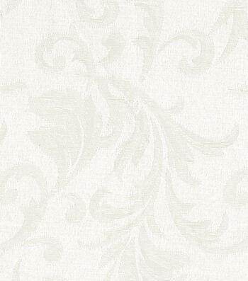 "Signature Series Lightweight Decor Jacquard Fabric 54""-Ivory"
