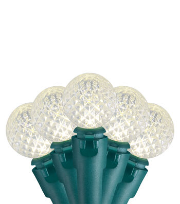 Maker's Holiday 20Ct LED Lights-Berry G14 Warm White