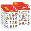 Pete the Cat Stickers 12 Packs