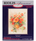 Tea Roses Counted Cross Stitch 11.7\u0022X15.7\u0022 14 Count