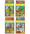 Four Seasons Windows Bulletin Board Set, 2 Sets