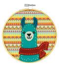 Dimensions Learn-A-Craft Felt Applique Stitch Kit-Llama