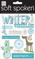 Blue Winter Wonderland Embellishment